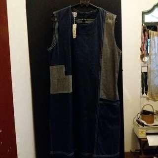 (NEW) jeans dress
