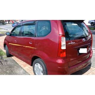 Toyota Avanza 2006 Manual Good Cond 1 Owner !!!
