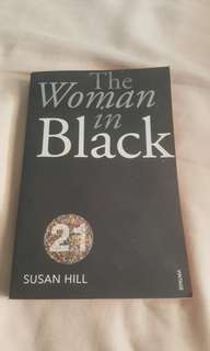 The woman in black book for sale