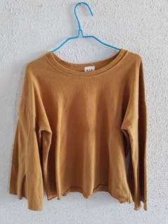 Camel Brown Top