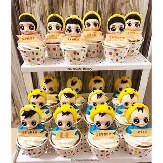 BB 3D Cupcakes