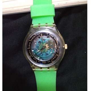 SWATCH Time to Move Automatic Watch