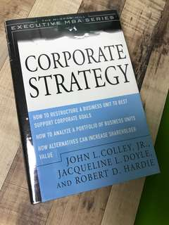 Corporate Strategy by John L Colley