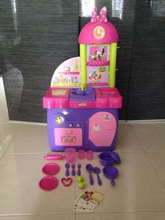 Minnie Mouse Clubhouse Kitchen Playset