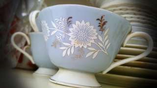 Old Teacup set