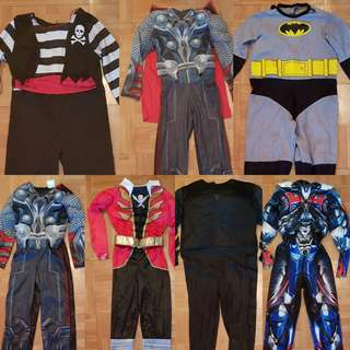 Pre-packed Children Costumes