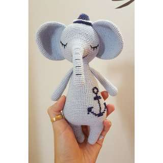 Amigurumi Sailor Elephant