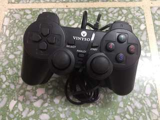 PC joystick with USB port