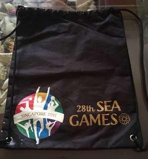 28th Sea Game Drawstring bag