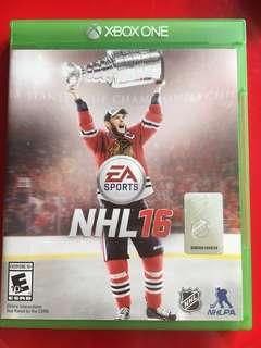 Xbox one Game NHL 16