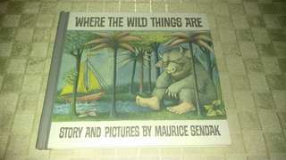 WHERE THE WILD THINGS ARE BY MAURICE SENDAK. GREAT CONDITION!
