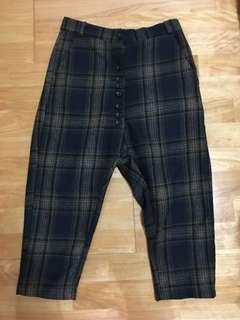 🚚 韓製厚磅八分褲