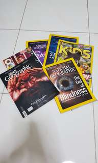 Assorted magazines #Blessings