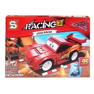 Mainan Lego Block RACING CARS SPEED RACING 312PCS - SY935