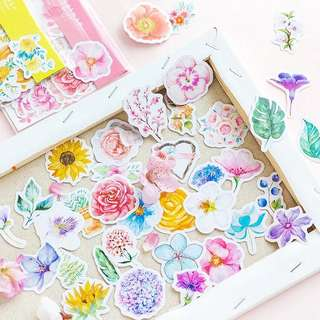✨Floral Stickers