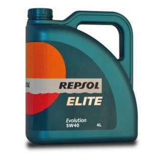 REPSOL 5W40 (Fully Synthetic) 4L