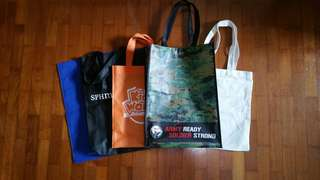 Free Recycle bag/ Tote bag/ Carrier