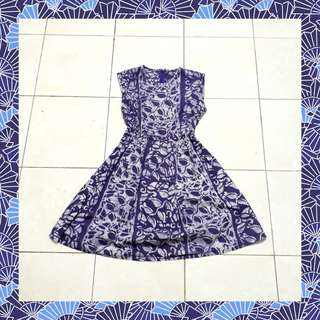 Dress Batik Cap