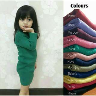 Dress Rajut Anak