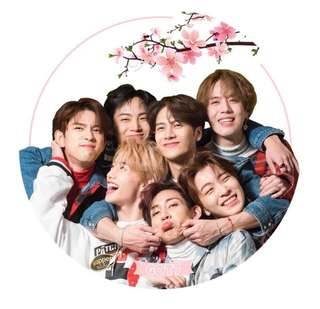 GOT7 TRANSPARENT FAN