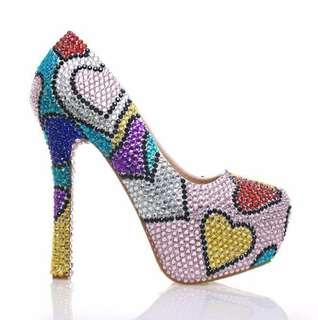 Ankara print women's shoe fashion