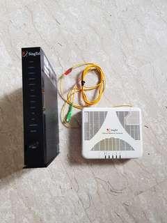 Singtel Optical Network Terminal & Router