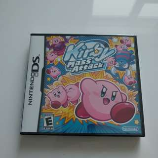 Kirby Mass Attack for Nintendo DS/DSi/3DS