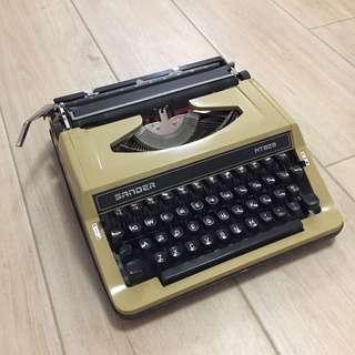 古董打字機 絕版 SANDER MT929 連盒一套