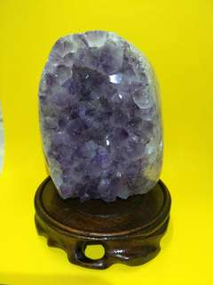 Purple Crystal with Stand(H11cm x W9cm)