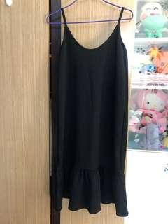 黑色連身裙打底裙