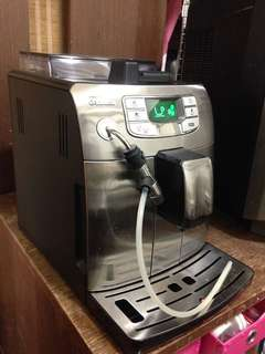🚚 Saeco 全自動義式咖啡機 Saeco intelia 咖啡機 附進口奶泡噴頭