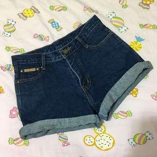 🚚 古著重磅牛仔短褲