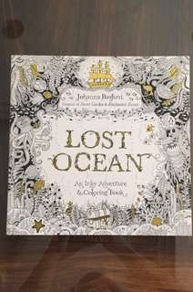 LOST OCEAN - An Inky Adventure & Coloring Book