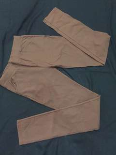 Jegging pants : jegging coklat