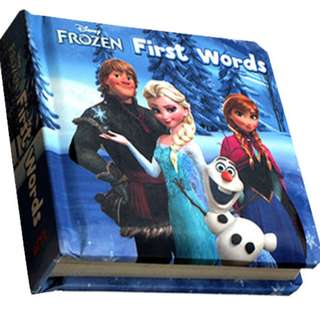 Buku Anak FIRST WORDS - DISNEY FROZEN BOARD BOOK