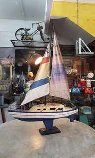 Vintage Sailboat Model