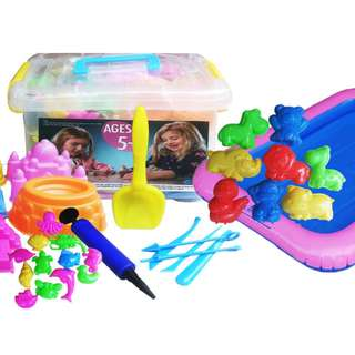 Mainan Edukasi Anak PASIR KINETIK 2000GR