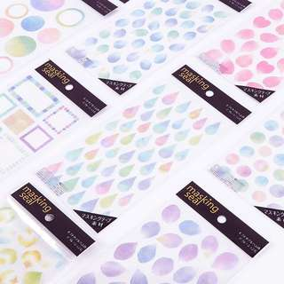 🔥Pastel Shapes Stickers #S002