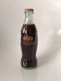 100 Years Olympic Tradition Coca Cola Bottle