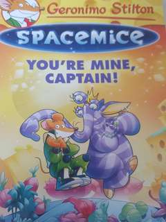 Fast Deal! Geronimo Stilton SpaceMice You're Mine, Captain!