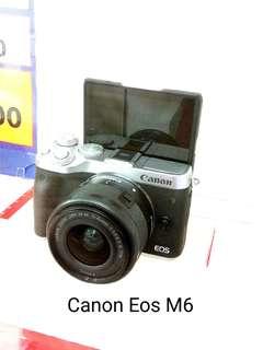 DP 0% Canon Eos M6 Kredit Tanpa Kartu Kredit