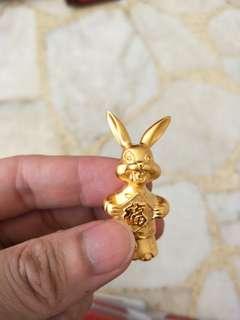 SG Mint - cartoon gold plated - Rabbit
