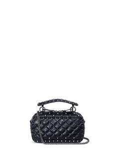 VALENTINO  'FREE ROCKSTUD SPIKE' LEATHER CAMERA BAG