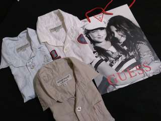 REPRICED Bundle of Guess Polo (3-4T)