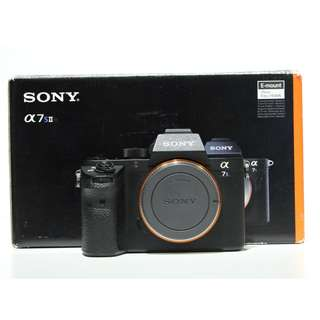 Sony Alpha a7S II Mirrorless Digital Camera (Total 2 Batteries) SC 25K (Sony Malaysia Warranty until August 2019 )
