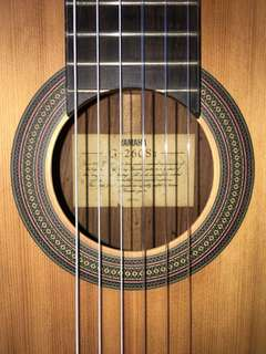 Classical Guitar by Yamaha G-260Sll