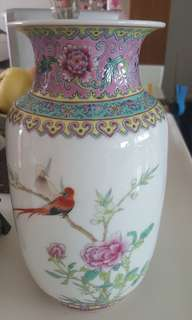 Very old porcelain vase