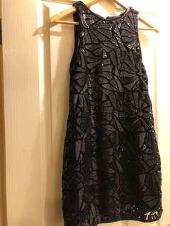Size 6 sequin mini dress