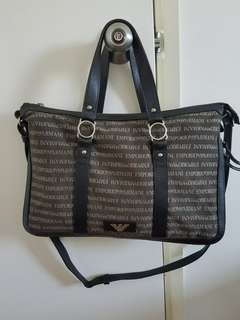 Emporio Armani laptop/document bag