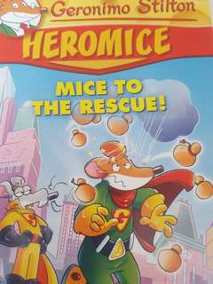 Geronimo Stilton Heromice Mice to Rescue!